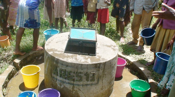 Les puits creusés à Madagascar