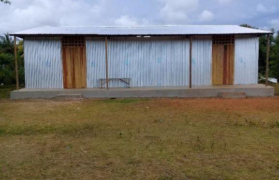 construction d'un classe supplémentaire en janvier 2021